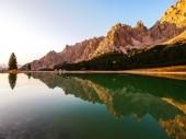 Dolomites Group Cristallo — Stock Photo