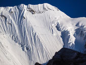 Himalayan peaks in Everest region — Stock Photo