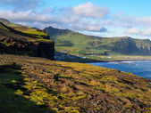 Typical landscape of Iceland — Foto de Stock