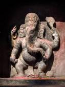 Statue of hindu elephant Ganesha — 图库照片