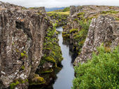 Thingvellir in Iceland — Stock fotografie