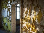 Ruins of an old hospital — Stock Photo
