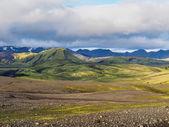 Landmannalaugar fjallabak naturreservat — Stockfoto