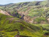 Reserva natural de landmannalaugar fjallabak — Fotografia Stock