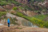 озеро fjallabak природный заповедник — Стоковое фото