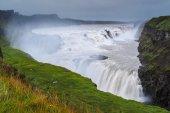 Gullfoss waterfall — Stock Photo