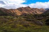 Landmannalaugar fjallabak doğa rezerv — Stok fotoğraf