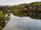 Thingvellir iceland — Stock Photo