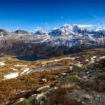 Постер, плакат: Swiss Alps Engadine Saint Moritz