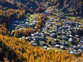 Autumn mountain landscape near Zermatt — Stock Photo
