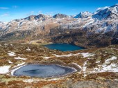 Swiss Alps, Engadine Saint Moritz — Stock Photo