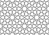 Arabic seamless pattern. Vector ornament — Stock Vector