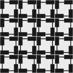 Seamless geometric pattern in op art design. Vector illustration — Stock Vector #53042157