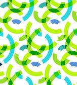 色の抽象的な線のパターン。ベクトルのデザイン — ストックベクタ