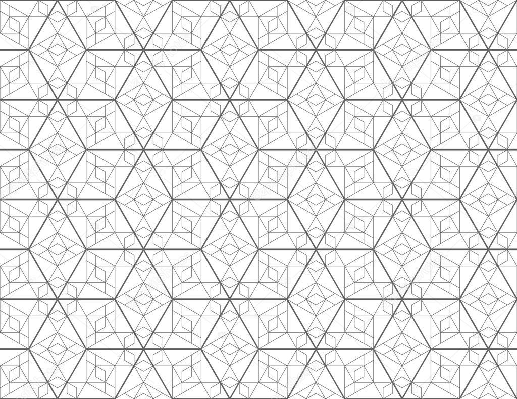 Seamless geometric pattern with diamond. Vector ...