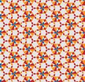 Seamless geometric pattern with diamond. Vector illustration — Stock Vector