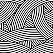 Seamless wavy pattern. — Stock Vector