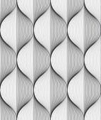 Seamless ripple pattern — Stock Vector