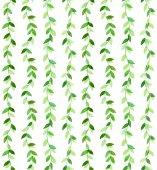 Wavy green pattern — Stock Photo