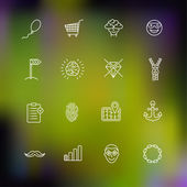 Vector icons — Stock Vector