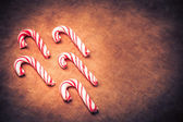 Stylized Candy Canes — Stock Photo