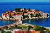Île de Sveti stefan — Photo