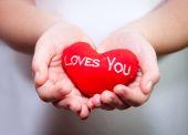 Loves you heart — Stok fotoğraf