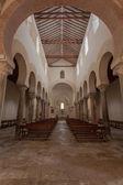 Beautiful Mozarabic church of San Cebrian de Mazote — Stock Photo