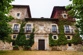 Facade of the Palacio of Martinporra located in Asturias Spain — Stock Photo