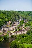 La Roque Gageac village in the Dorgogne region of France — Stock Photo