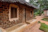 Mud house in Zanzibar Village — Stock Photo