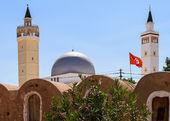 Tunisko vlajka — Stock fotografie