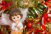 Angel Christmas orizontal  — Stock Photo