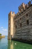 Scaliger Castle side left — Stockfoto