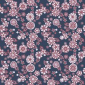 Cute flowers pattern — Stock Vector