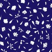 Daisies seamless pattern — Stock Vector