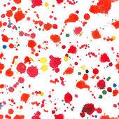 Watercolor blots seamless pattern — Stock Vector