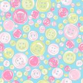 Vintage buttons pattern — Stock Vector