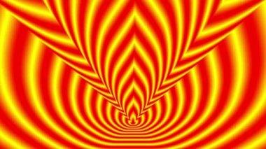 Simboli in arrivo della fiamma — Video Stock
