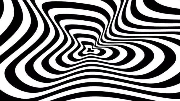 Abstract symbol of compressed blot — Vídeo de stock