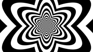 Concentric oncoming atom — Wideo stockowe