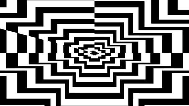 Oncoming symbol of polygon — Vidéo