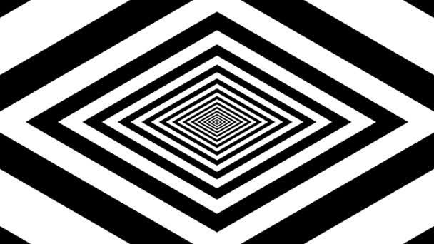 Concentric oncoming rhombus — Vidéo