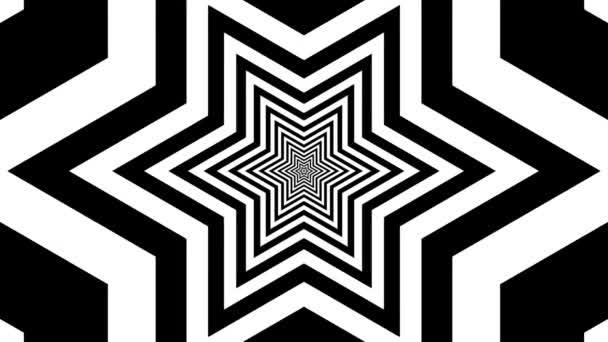 Concentric oncoming hexagram — Vidéo