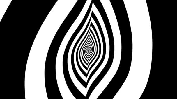 Concentric oncoming candle flame — Vidéo