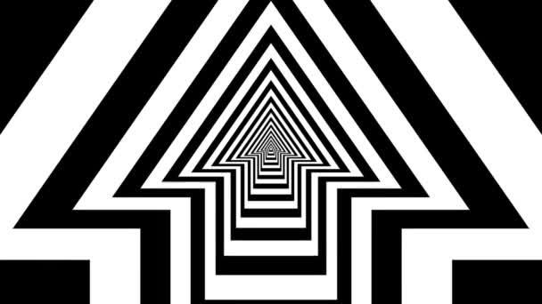 Concentric oncoming up arrow — Vidéo
