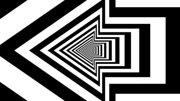 Concentric oncoming left arrow — Vidéo