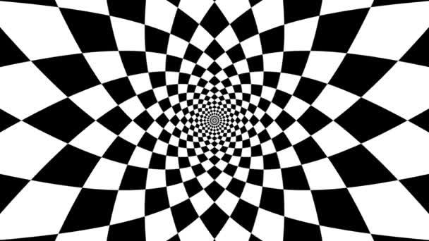 Oncoming symbol of rhomb — Vídeo de stock