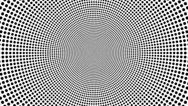 Oncoming symbol of circles — Vidéo