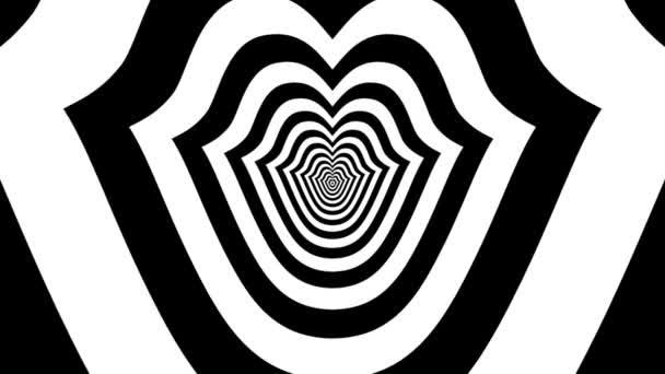 Los símbolo del beso — Vídeo de stock